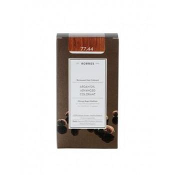 Korres Argan Oil Advanced Colorant 77,44 Ξανθό Έντονο Χάλκινο 50ml