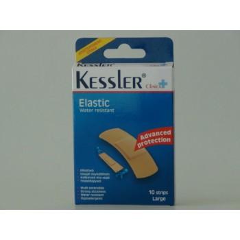 Kessler Elastic Ελαστικό Υποαλλεργικό Επίθεμα Ανθεκτικό στο Νερό 10τμχ