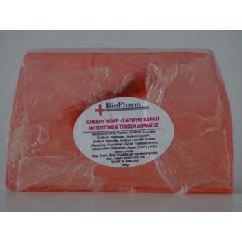 Biopharm Σαπούνι Κεράσι Αντισυπτικό & Τόνωση Δέρματος 100g