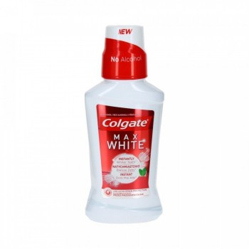 Colgate Max White Στοματικό Διάλυμα με Γεύση Μέντα, 250ml