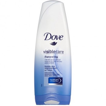 Dove visible care Renewing creme body wash 400ml