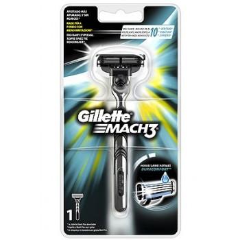 Gillette Mach 3 Ξυριστική Μηχανή με 3 λεπτές λεπίδες & λιπαντική ταινία τμχ