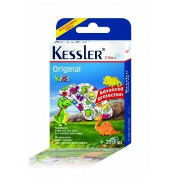 Kessler Original Kids - Παιδικά Αποστειρωμένα Αυτοκόλλητα - 20strips