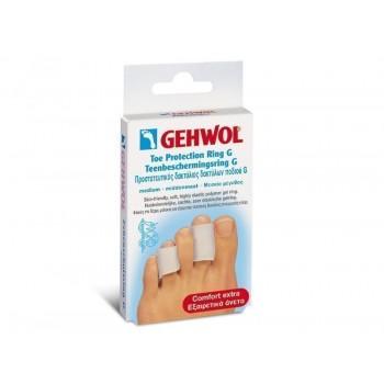 Gehwol Toe Protection Ring G-Προστατευτικός δακτύλιος δακτύλων ποδιού Μεσαίο μέγεθος 2τεμ