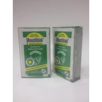 Moustiblok – Soothing Body Lotion – Προστατευτική Λοσιόν με Ευκάλυπτο 10φακ*5ml