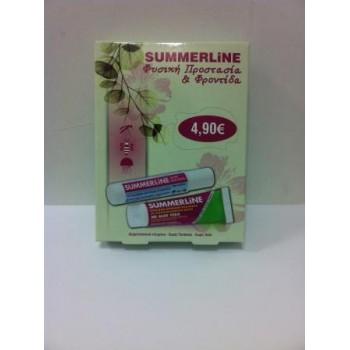 Summerline After Bite Stick 15ml & ενυδατική κρέμα με εντομοαπωθητική δράση-aloe vera 30ml