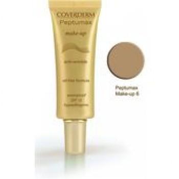 Coverderm Peptumax Make Up Αντιρυτιδικό Με Αντηλιακή Προστασία No6 SPF15 30ml