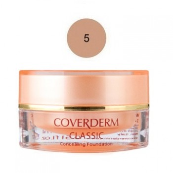 Coverderm Classic Concealing Foundation SPF30 No5 15ml