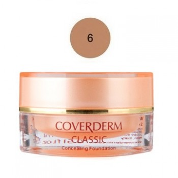 Coverderm Classic Concealing Foundation SPF30 No6 15ml