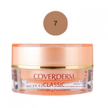 Coverderm Classic Concealing Foundation SPF30 No7 15ml