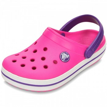 Crocs Relaxed Fit Crocband Kids Neon Magenta/Neon Fit