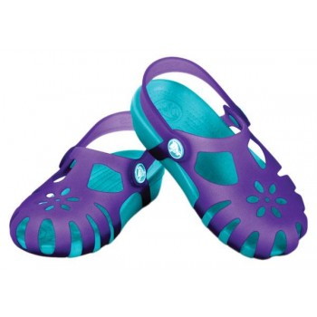 Crocs Shirley Girls Ultraviolet/Aqua