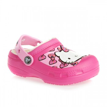 Crocs  Roomy Fit CC Hello Kitty Bow Ind Clog Eu Neon Magenta Ροζ