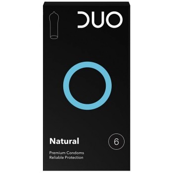 Duo Natural Προφυλακτικά 6τμχ