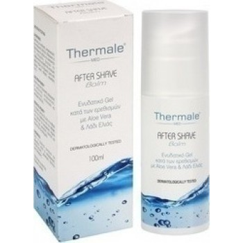 Thermale Med After Shave Balm με Aloe Vera & Λάδι Ελιάς 100ml