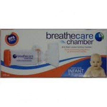 Asepta BreathCare Chamber infant Μάσκα εισπνοής φαρμάκου {0-18}μήνες 175ml