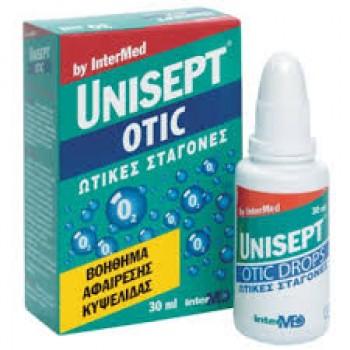 Unisept otic ear drops Ωτικές σταγόνες 30ml