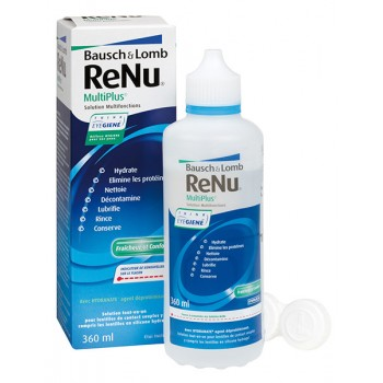 Bausch + Lomb –ReNu MultiPlus  Διάλυμα Πολλαπλών Χρήσεων 360ml