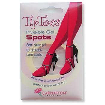 Carnation Footcare –Tip Toes Άνεση και Ανακούφιση Μέσα στο Παπούτσι 6 Gel Spots