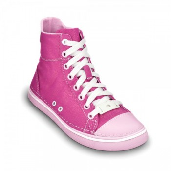 Crocs – Hover snk Girls hi tp Metallic Fuchsia-Bubblegum