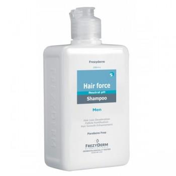 Frezyderm Hair Force Shampoo Men Ανδρικό Σαμπουάν Για Την Τριχόπτωση 200ml