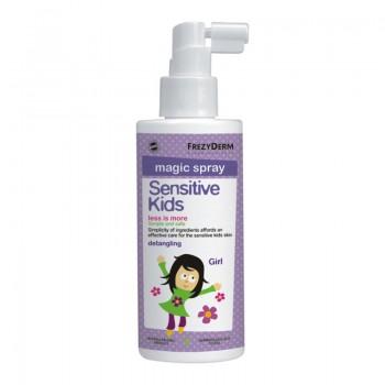 Frezyderm Magic Spray Sensitive Kids for Girls Μαλακτική Λοσιόν Μαλλιών 150ml
