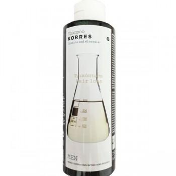 Korres Σαμπουάν Κατά Της Τριχόπτωσης Shampoo Hairloss Κυστίνη & Ιχνοστοιχεία Για Τους Άντρες 250ml