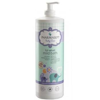 Pharmasept Tol Velvet Baby Mild Bath Παιδικό Αφρόλουτρο Για Σώμα & Μαλλιά 1lt
