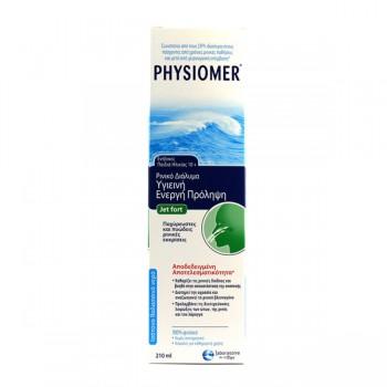 Physiomer – Ρινικό Διάλυμα Υγιεινή Ενεργή Πρόληψη Jet Fort 210ml