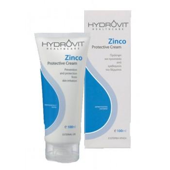 Hydrovit Zinco Εμποδίζει και προστατεύει από ερεθισμούς την επιδερμίδα 100ml