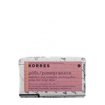 Korres Σαπούνι Ρόδι Για Λιπαρές Επιδερμίδες 125g