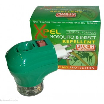 Xpel – Mosquito & Insect Repellent Plug In 1 τμχ