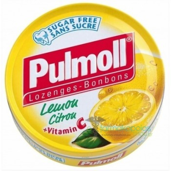 Pulmoll Λεμόνι + βιταμίνη C
