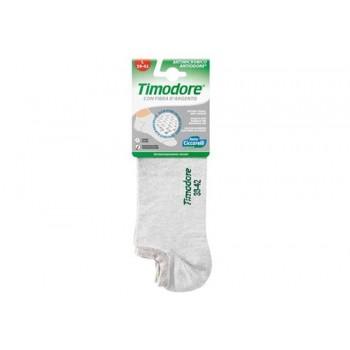 Timodore Αποσμητικές Κάλτσες Ποδιών Με Αντιβακτηριδιακή Δράση Γκρί Χρώμα (39-42)